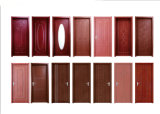 Portas de madeira interiores do PVC do MDF