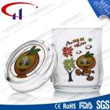 240ml decaled Glass taza de té de Promoción (CHM8093)