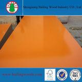 Le grain en bois gravent les forces de défense principale faites face par mélamine pour des meubles