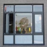 [هيغقوليتي] جديدة تصميم لون رماديّ ألومنيوم قطاع جانبيّ شباك نافذة [كز023]