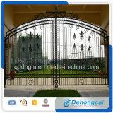 Disegno ornamentale standard di disegno del cancello dell'azienda agricola dell'America/cancello di giardino