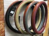 Крышки рулевого колеса автомобиля PVC OEM конструкции способа новые