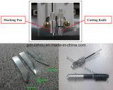 Trazador de gráficos plano del corte de la muestra del cortador del modelo del CNC