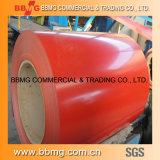 Низкая цена Prepainted/покрынные цветом гофрированные плитки толя стали ASTM PPGI/горяче/после того как она настилающ крышу стальная катушка