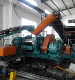 Krume-Gummigummireifen, der Maschinen-Gummireifen-Maschinen-Typen Reifen-Abfallverwertungsanlageaufbereitet