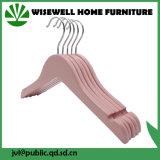 Ganci di vestiti dentellare di legno con la spalla dentellata (WHG-A12)