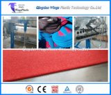 플라스틱 PVC 물자 코일 매트 마루 롤 생산 라인/만들기 기계