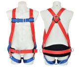 PE 조정가능한 뒤 지원 방어적인 안전 벨트 가득 차있는 바디 안전 장치