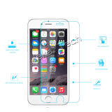 Fábrica 9h 2.5D 0.33mm Rounded Edged telefone celular Tempered Glass Screen Protector para iPhone 6 / 6s
