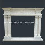 Горячий продавая камин европейского типа белый мраморный (SY-MF122)