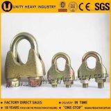 China-Hersteller Galv formbarer DIN1142 Typ Drahtseil-Klipp