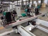 O CNC horizontal encurrala a máquina de soldadura para a Ganhar-Porta do PVC. Shwkp4c-180*1800*3000
