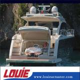 Ressort à gaz à levier à piston en acier inoxydable pour yachts