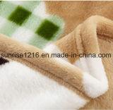 Cobertor coral impresso Sr-B170213-17 impresso macio super do velo do cobertor da flanela
