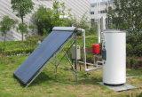 Réchauffeur d'eau chaude solaire pressurisé par fente (EN12976/SRCC)