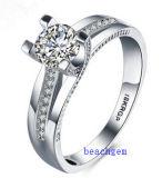 Heet verkoop de Ringen van het Messing van het Zirkoon van Juwelen (R0822)