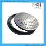 Coperchio di botola resistente della vetroresina della fogna del tondo D400