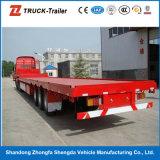 40FT Large Capacity Carry Goods Flat Semi-Trailer em China para Sale