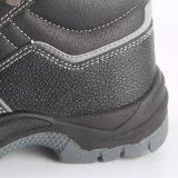 Самые лучшие продавая кожаный ботинки ботинок безопасности с стальной крышкой пальца ноги