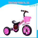 """Passeio do carrinho de criança do Pram do """"trotinette"""" dos miúdos do bebê do triciclo de crianças no triciclo do brinquedo do carro"""