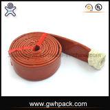 Bestes Preis Pyrojacket Feuer-Hülsen-Fiberglas-Silikon-Sleeving Hersteller von China