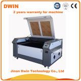 Precio de papel plástico del grabado del corte del laser del CO2 de la tela de acrílico del MDF del bajo costo
