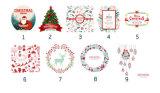 크리스마스 Xmas 면 선물은 산타클로스 자루 유기 졸라매는 끈 부대를 자루에 넣는다