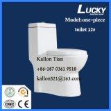 床-衛生製品の取付けられた単一部分の浴室の洗面所