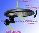 Indicatore luminoso esterno del supporto della parete della decorazione della lampada dell'iarda di paesaggio della rete fissa del giardino di energia solare LED