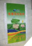 Saco tecido da cópia plástico colorido para a semente