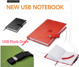 Notebook com disco de memória USB Flash Drive (EL031)