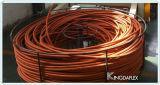 Boyau hydraulique tressé de textile hydraulique de boyau de SAE 100r6
