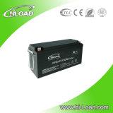 Wartungsfreie Solarleitungskabel-Säure-Batterie 12V 150ah