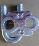 Гальванизированная крепежная деталь тип зажим веревочки провода