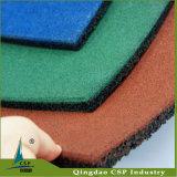屋外のゴム製床のマット
