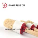 Cepillo de pintura redondo de la cerda (HYR001)