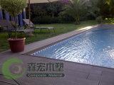 Ocox Composite Decking para a piscina
