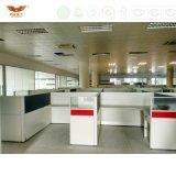 Centre d'appels neuf de bureau de poste de travail de bureau de mode de meubles certifié par forêt de bureau de conception de mode de FSC
