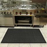 反スリップのゴム製マット、排水のゴム製マットの抗菌性の床のマットのAnti-Fatigueマット