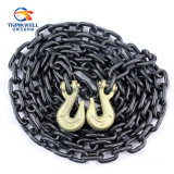 Lega Steel G80 Nero-Tempered Binder Chain con Clevis Hook