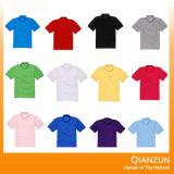 2016 T-shirts colorés de polo de chemise courte faite sur commande