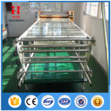 Sublimación de la materia textil del rodillo del sistema de calefacción de petróleo que presiona la impresora