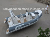 2.4mへのSunshadeの8.3m Liya Hypalon Outboard Motor Rigid Inflatable Boat