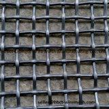 стальная квадратная сетка волнистой проволки сетки вибрируя экрана 65mn/45mn