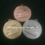 Медали изготовленный на заказ высокого качества круглые для конкуренции награждают собрание
