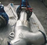 Yは鋳造物鋼鉄にステンレス鋼の地球弁をタイプする