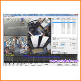 H. 264 GPS追跡のWiFi 3G 4GのHD 1080P 4チャネル移動式DVR