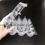 Plástico PVC / PP / Pet Packaging caja de la caja de huevos