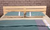 Festes Holz-erwachsenes Bett-hölzernes doppeltes Bett (M-X1037)