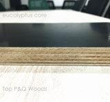 madera contrachapada hecha frente película del eucalipto de 1220*2440 20m m WBP impresa con insignia
